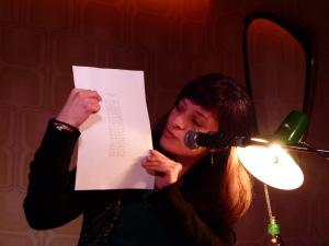 Literaturklub Köln: Özlem Özgül Dündar. © Foto: Sascha Klein