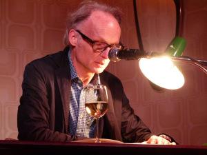 Literaturklub Köln: Manfred Enzensperger. © Foto: Sascha Klein