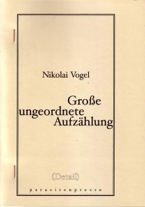 Cover Vogel